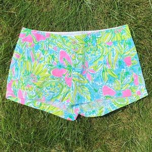 Lilly Pulitzer Coconut Jungle Walsh Short Sz 2